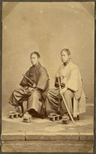 Japanese-Warriors-in-the-middle-late-1800s-10