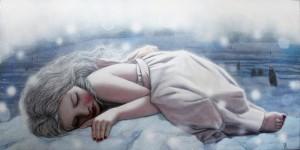 bambina-triste-su-neve